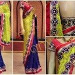 Designer saree by Sony reddy