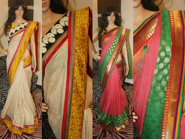 Designer sarees by Amuktha Collections
