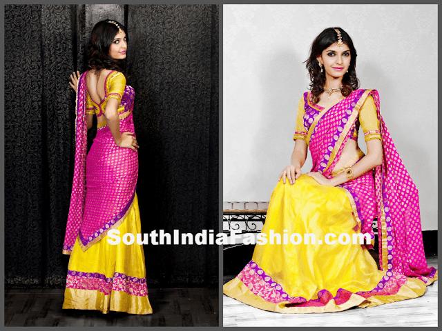 Prashwi half saree