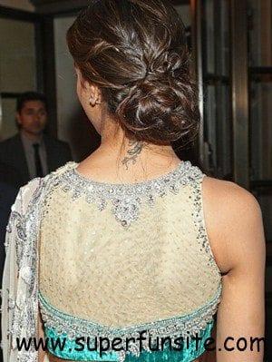 net saree blous design 8