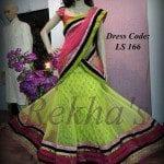 Half Saree in Bright Shades