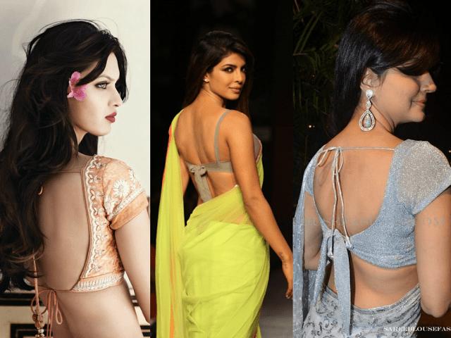 Tie Back saree Blouses