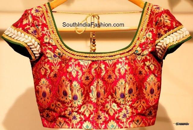 saree blouse design model