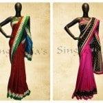 Designer sarees by Singhanias