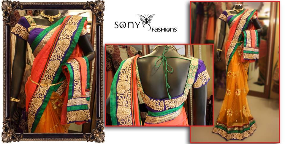 sony reddy saree 2