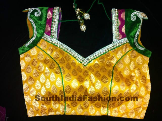 tansi couture blouse designs
