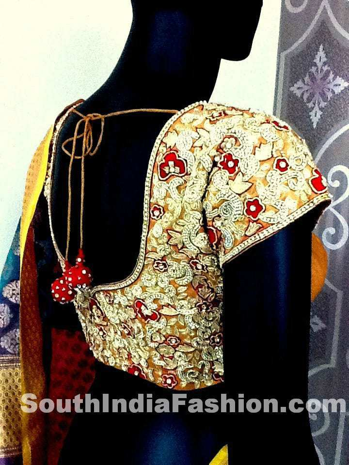 tansicouture blouse model