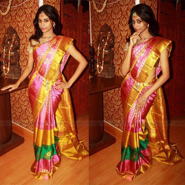 Bridal Silk Saree By Srihita Exports South India Fashion