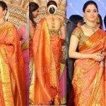 Tamanna in Bridal Saree