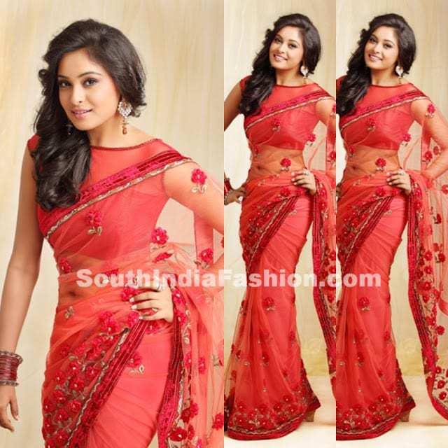 amrutha designer saree