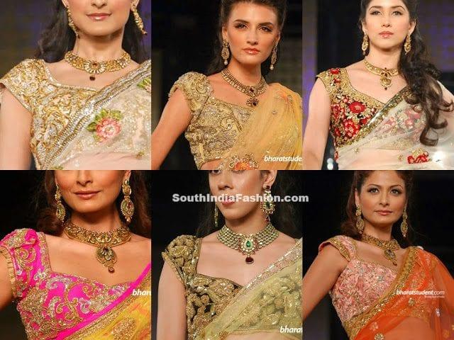 bhairavi jaikishan saree blouse designs
