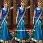 Lovely Half Saree by Bhargavi Kunam