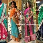 Designer Half Sarees by Shravya Varma