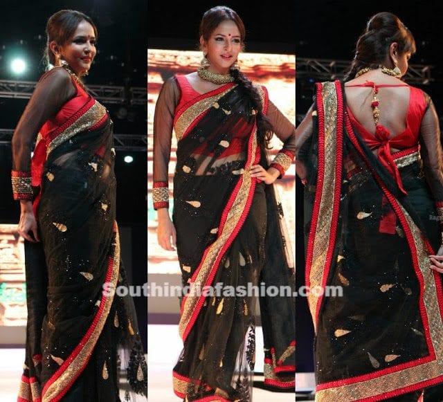 lakshmi manchu saree