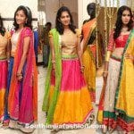 Teenagers in Lehengas