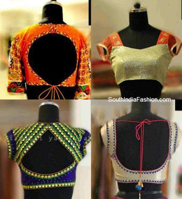 saree blouse designs 2013