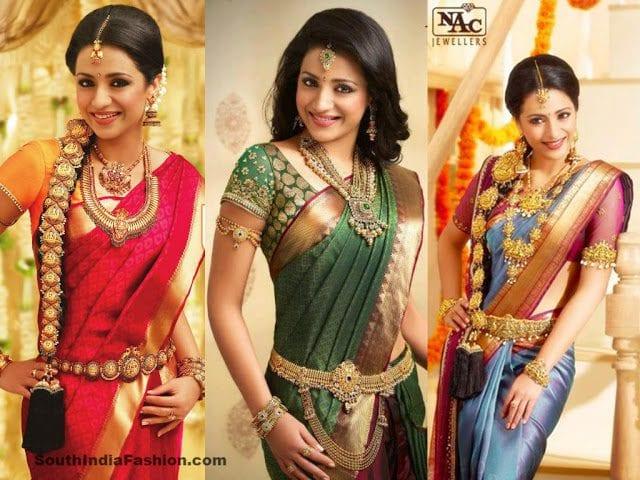 trisha jewellery ad