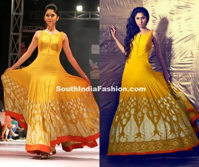 Fashion Designer Shravan Kumar's Creations –South India ... Sabyasachi Anarkali Suits Collection 2013