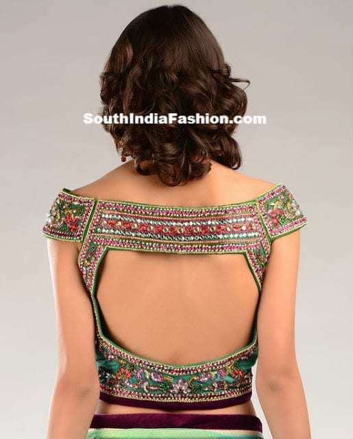 The design of the back neck is one of the most important considerations while choosing a blouse. It is necessary to keep in mind that a perfect neck designs for cotton blouses should be simple with less of embellishments and more of flattering back opens and cuts.