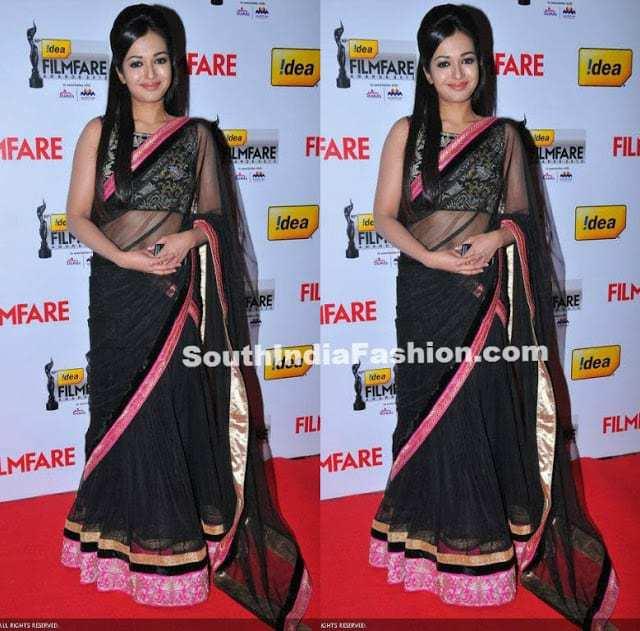 catherine half saree