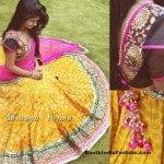 Designer Half Saree by Shravya Varma