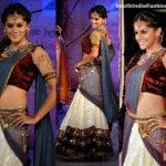 Tapsi in Designer Half Saree