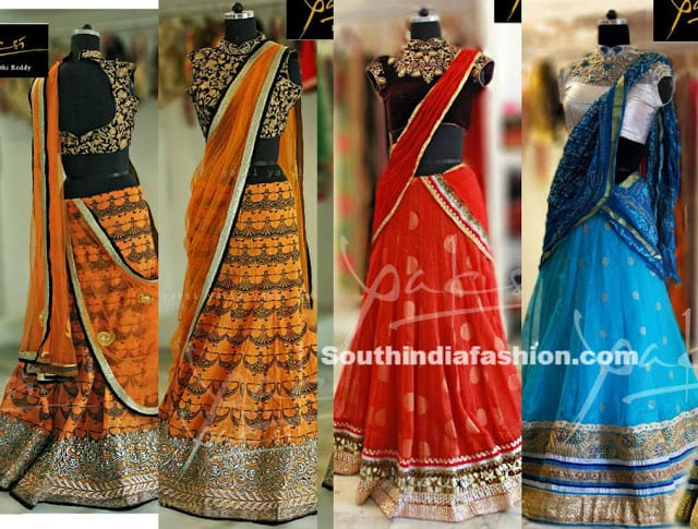 half sarees yaksi boutique hyderabad