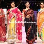 Sarees at Hyderabad Fashion Week