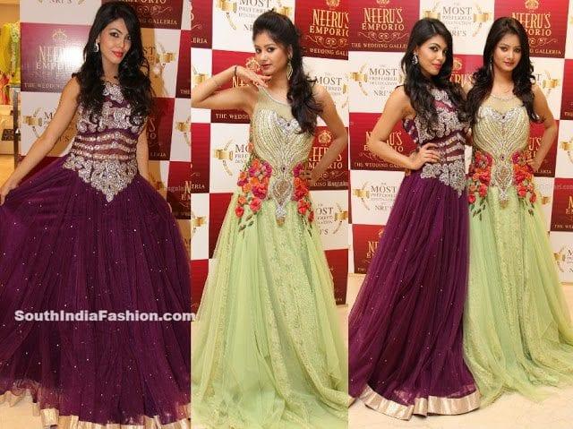 Long Dresses by Neeru's – South India Fashion