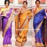 Sarees @ Hyderabad Fashion Week