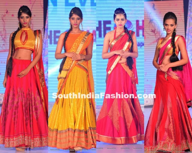 shravan kumar fashion show