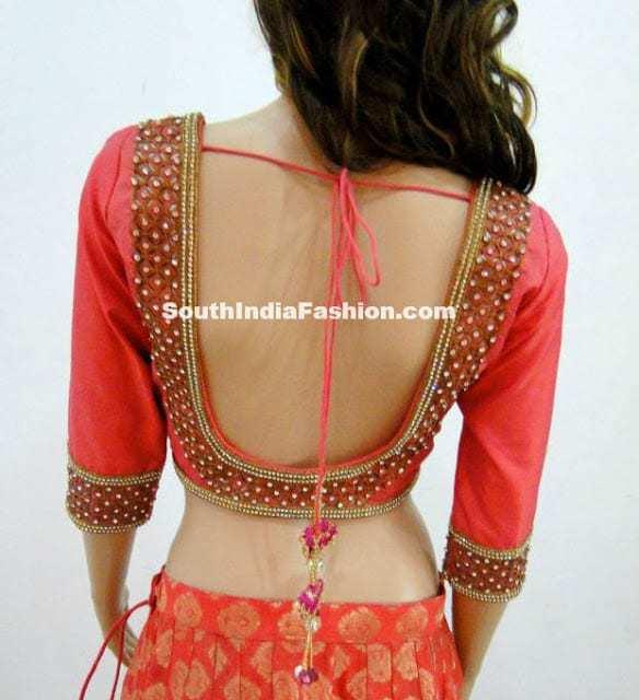 varuna jithesh blouse