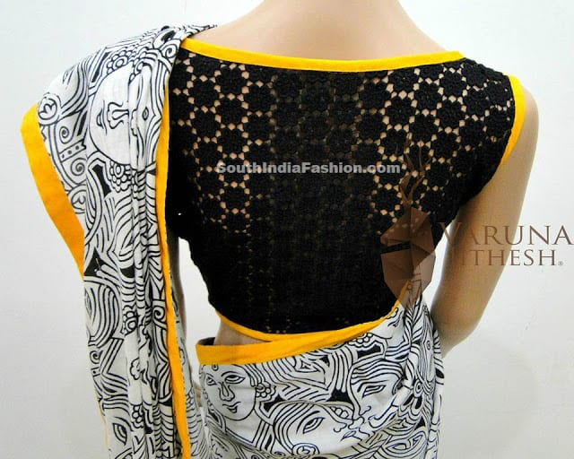 varuna jithesh blouse designs