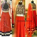 Floor Length Anarkali by Deepthi Reddy