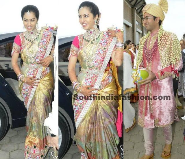 balakrishna daughter tejaswini wedding
