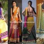 Designer Half Sarees by Bhargavi Kunam