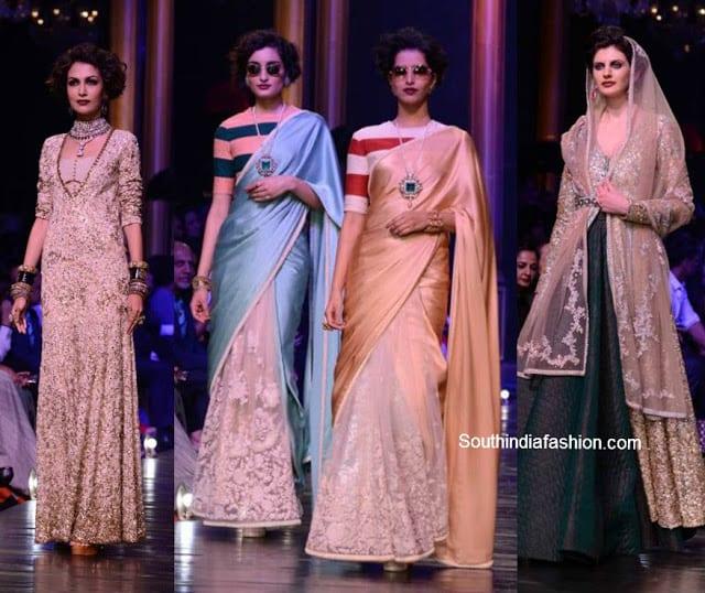 fabulous sabyasachi collection lakme fashion week 2013