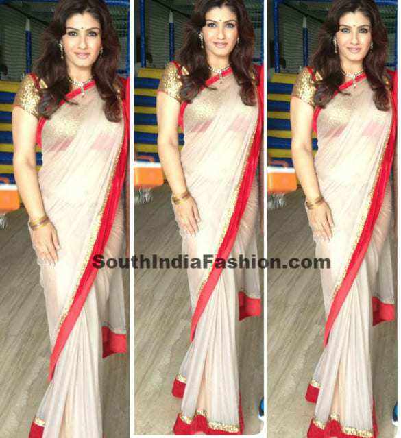 shravya varma designer saree