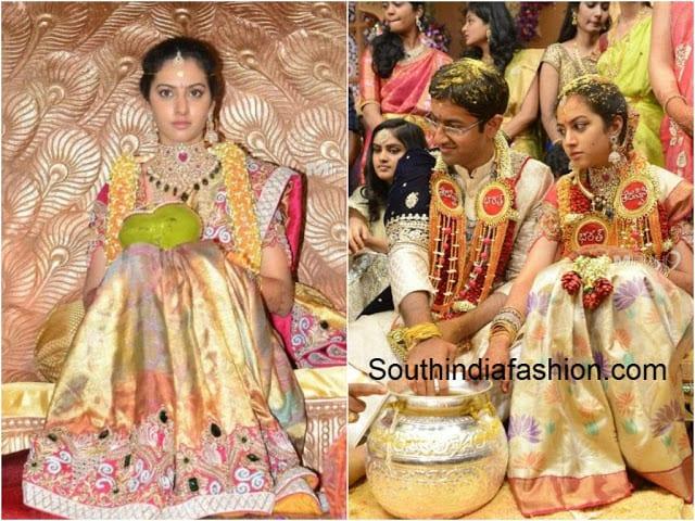 tejaswini marriage photos