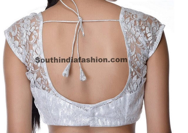 white net blouse
