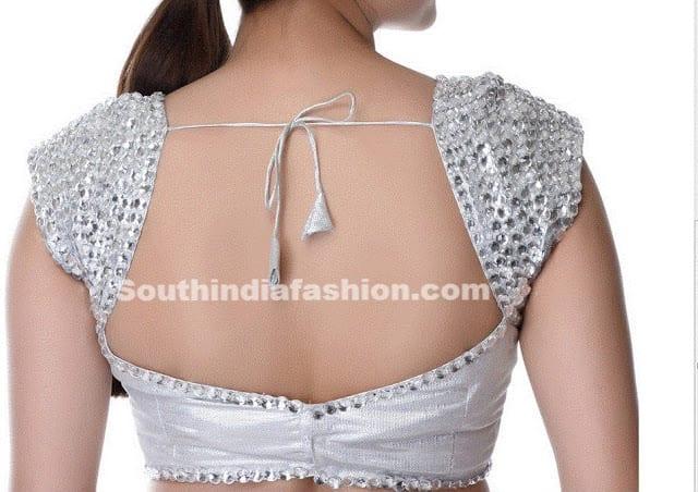 white readymade blouse