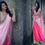 Trendy Half Saree  by Bhargavi Kunam