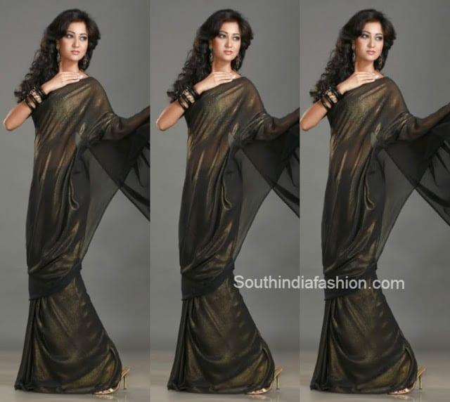 black shimmer saree.jppg