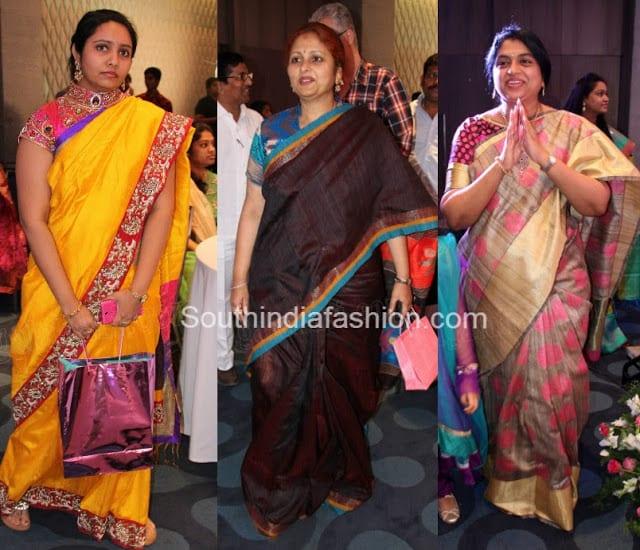 dasari narayanrao granddaughter half saree function
