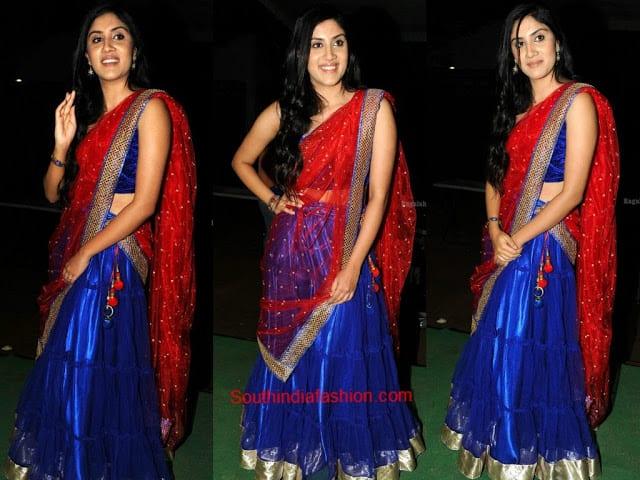half saree designs