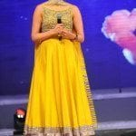 Kajal Agarwal in Yellow Anarkali