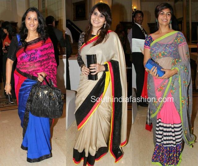 sarees fashionshow