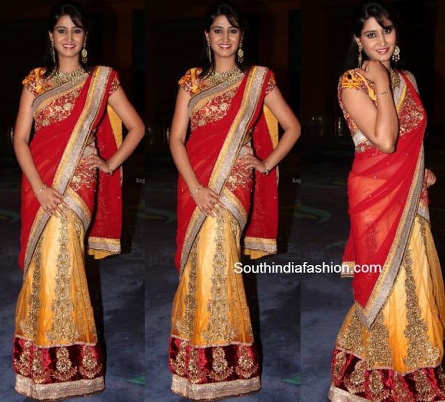 shamili half saree