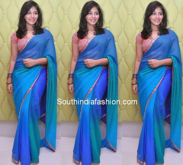 anjali saree