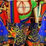 Designer Half Saree by Sony Reddy